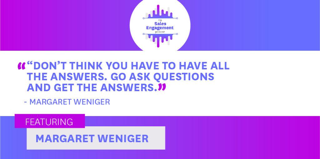 Margaret Weniger Girls Club Sales Engagement