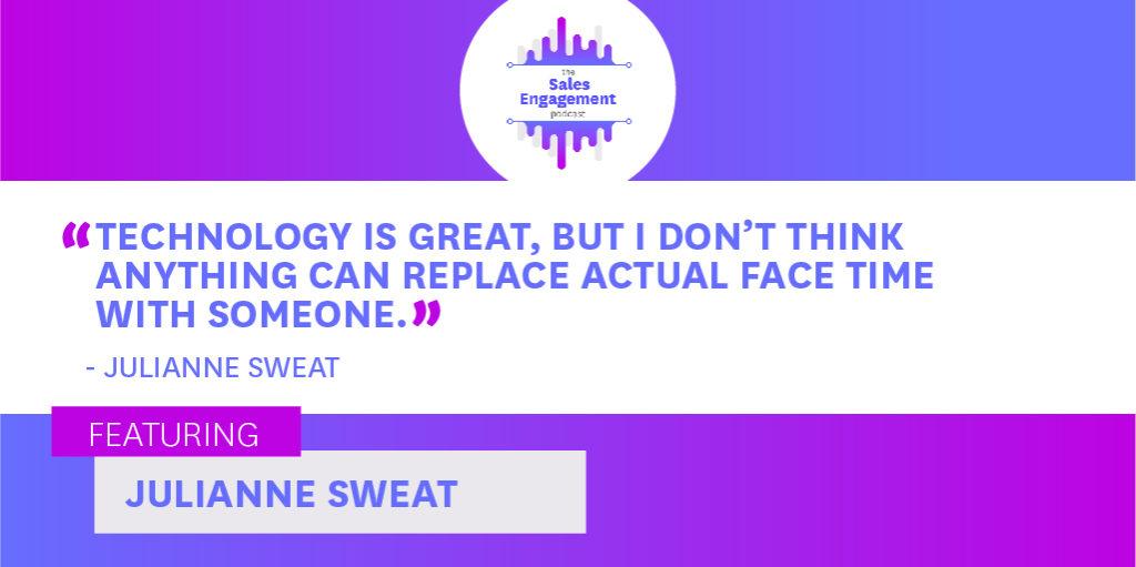 Julianne Sweat Technology Sales Engagement