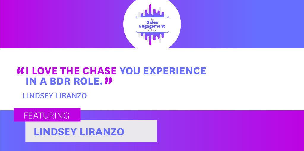 Lindsey Liranzo Experience Sales Engagement