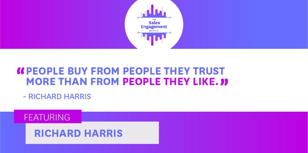 Richard Harris Trust Sales Engagement