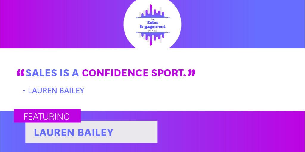 Lauren Bailey confidence sales voicemail