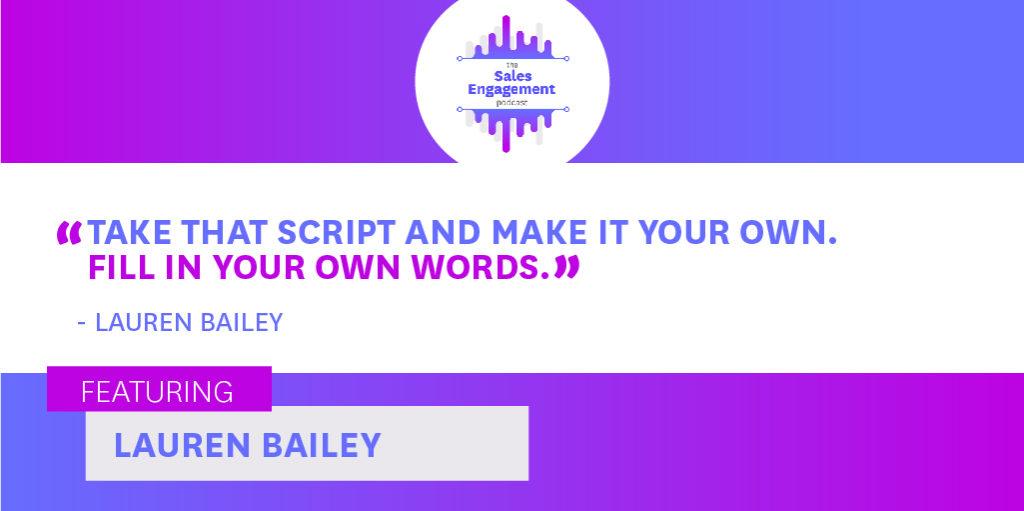 Lauren Bailey Factor8 Sales Voicemail