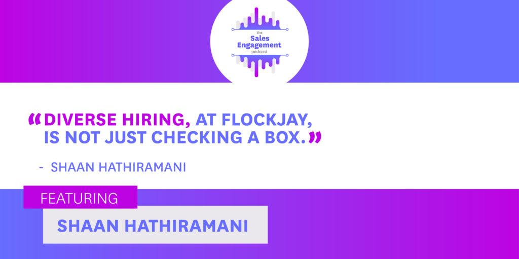 Shaan Hathiramani diverse hiring flockjay
