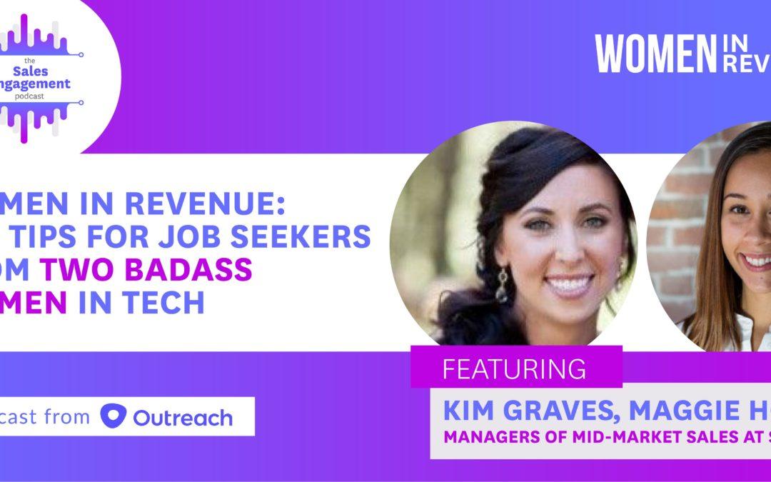 Episode 98: Women in Revenue: Top Tips for Job Seekers From Two Badass Women in Tech
